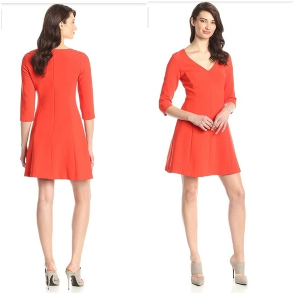 Trina Turk Dresses & Skirts - Trina Turk 4 Nat Ponte Knit A Line Dress 2